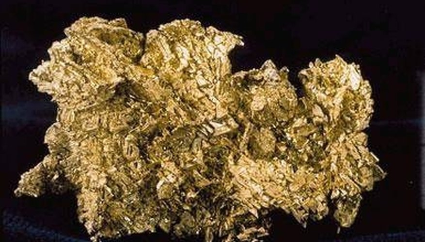Although gold resists most chemicals, mercury dissolves it.