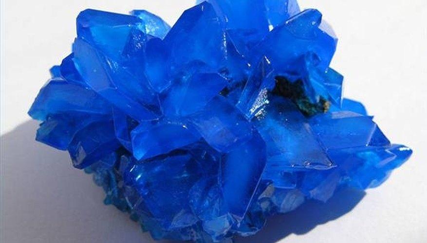 Blue Metallic Salt for Glass Staining