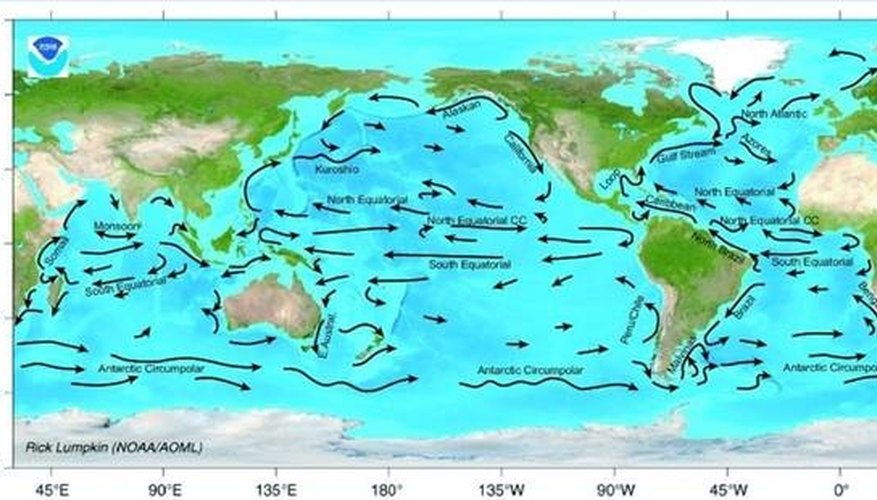 What Are Surface Currents Caused By? | Sciencing