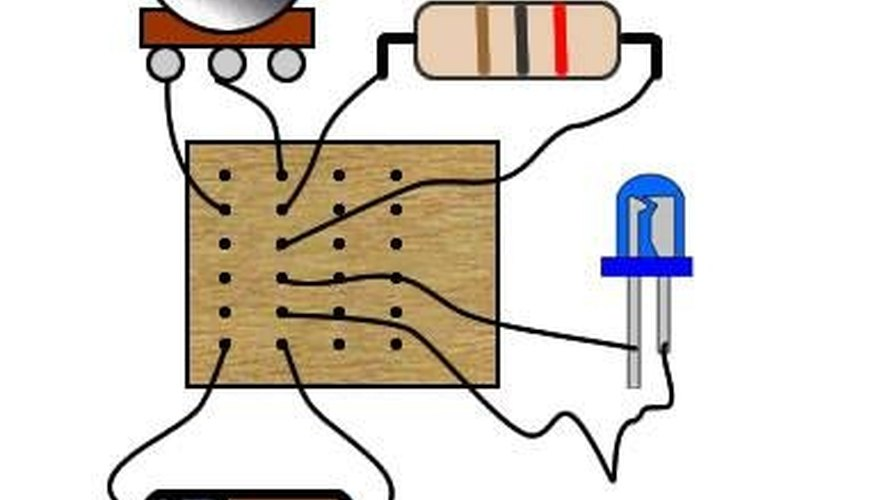 Breadboard and components