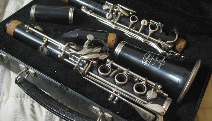 Bundy clarinet in case