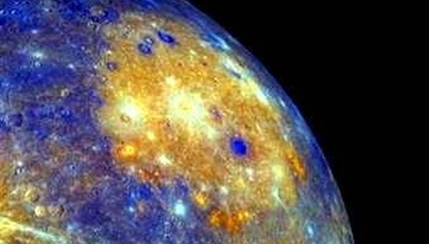 A dazzling image of Mercury taken by Chinese astronomers