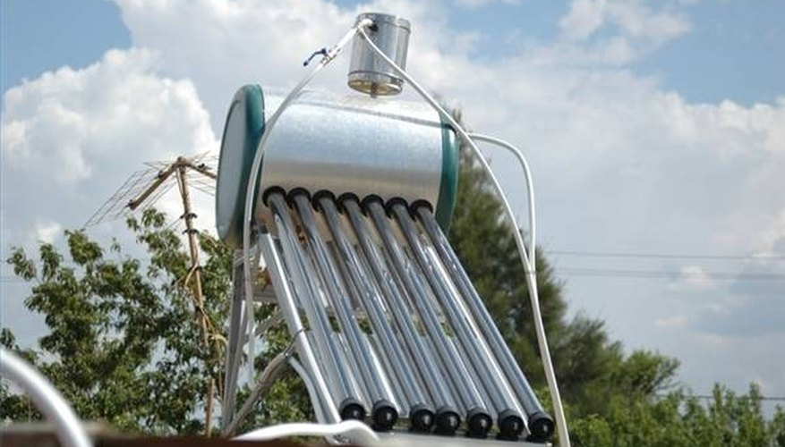 Solar Power Used for Hot Water Heater
