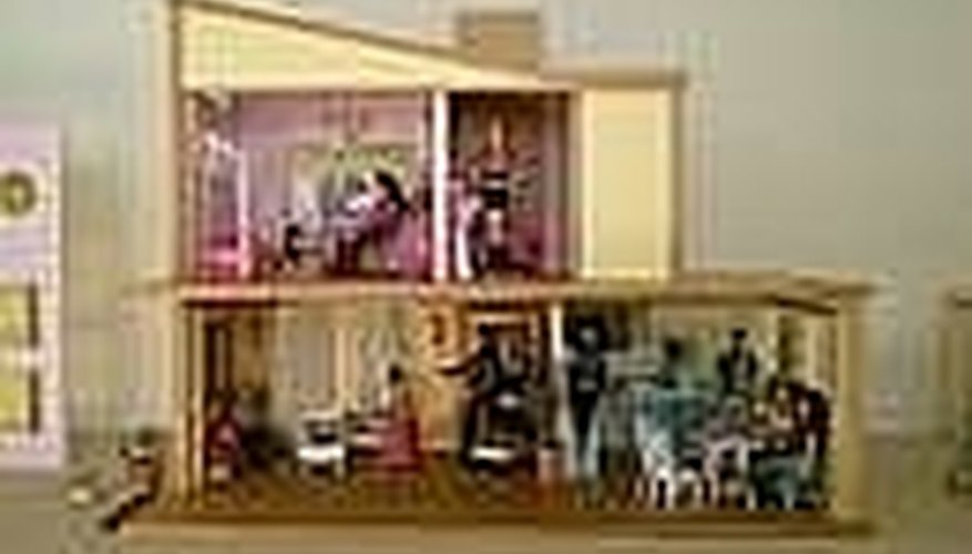 Wooden Barbie Dollhouse