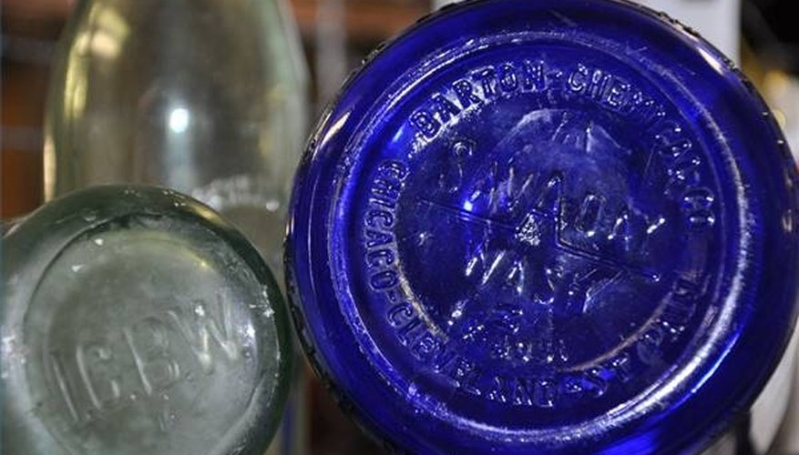 These bottle bases indicate they were made after 1910.