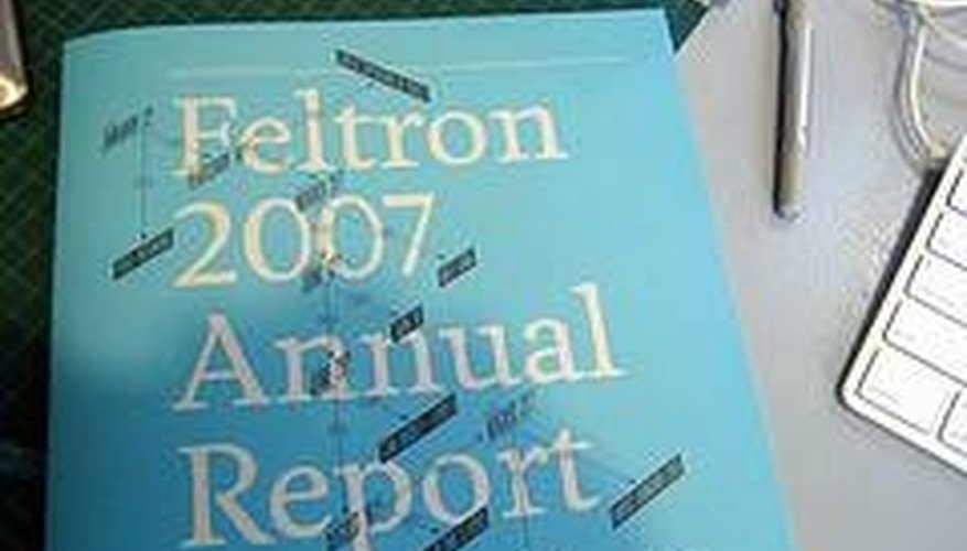 What Are the Functions of an Annual Report?