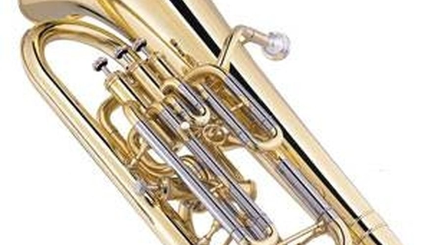 The four-valved euphonium is often called a baritone.