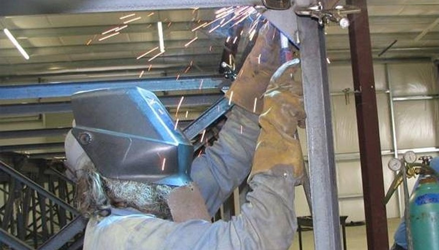 Overhead Welding structural frame