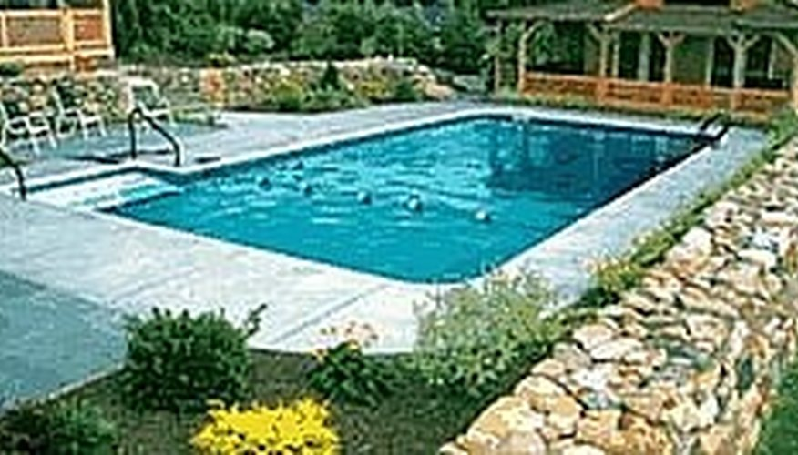 Buy an in-ground pool kit.