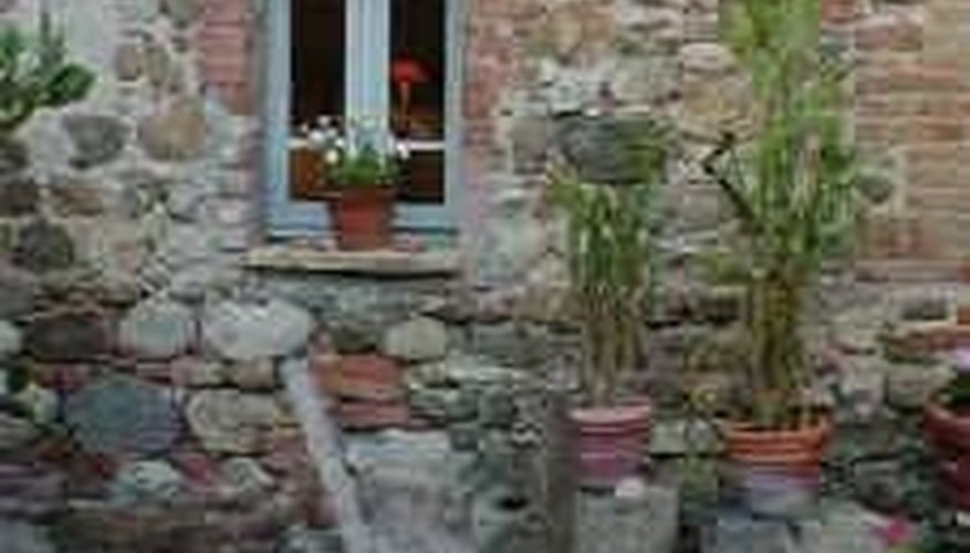Casement windows were the first refinement over a simple hole in the wall.