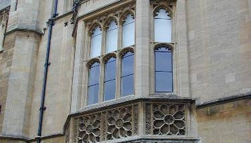 Oriels were a popular design element during the building of Trinity College, Cambridge.