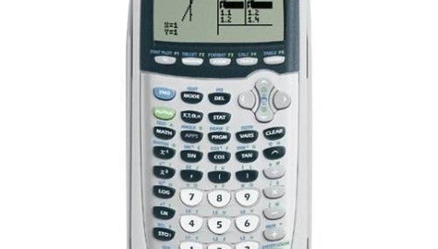 Graph with a Ti 84 Calculator