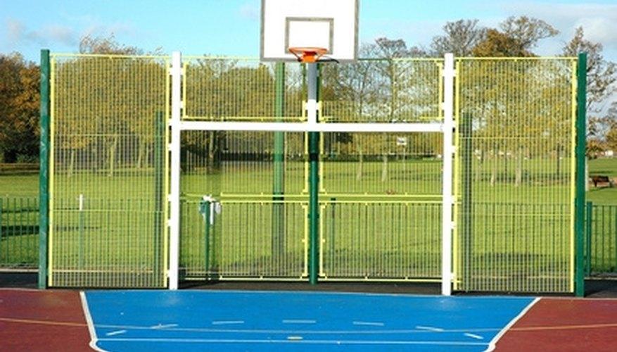 Play Around the World Basketball