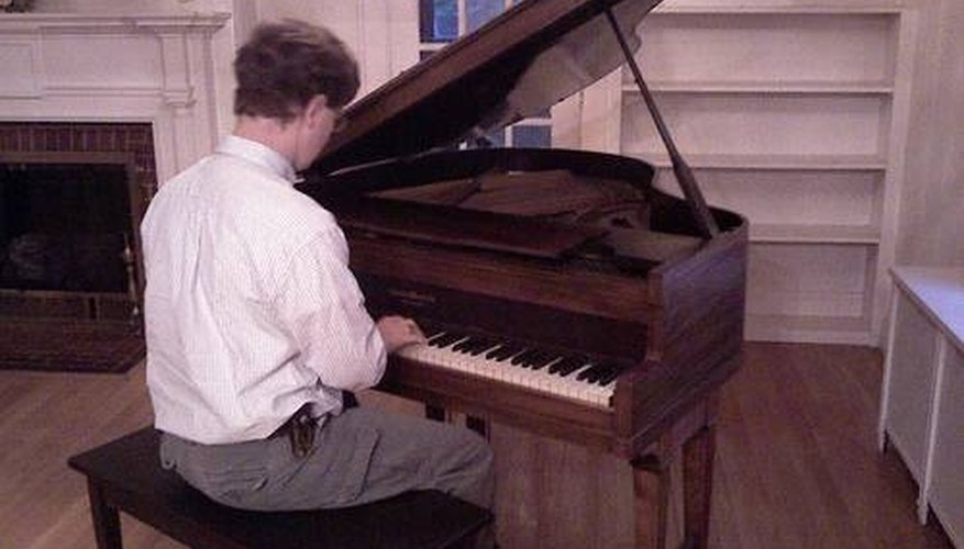 Playing classical on a Baby Grand