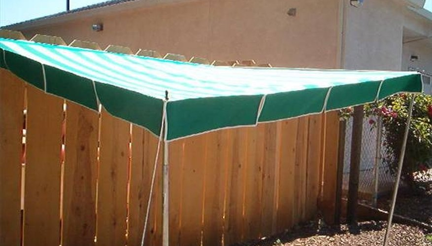 Use a moveable awning for protection against the sun.