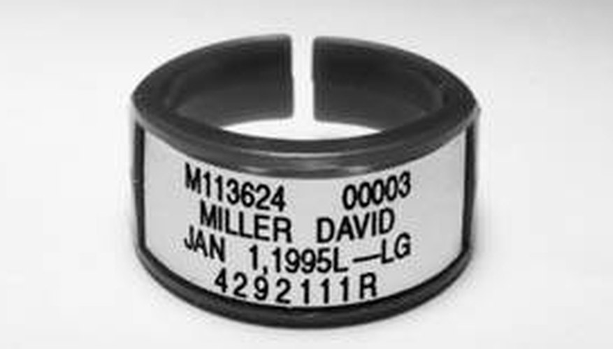 A radiation dosimeter bracelet, courtesy princeton.edu