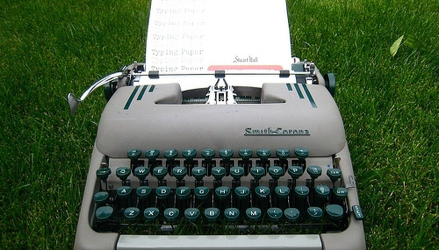 Advantages of Typewriters