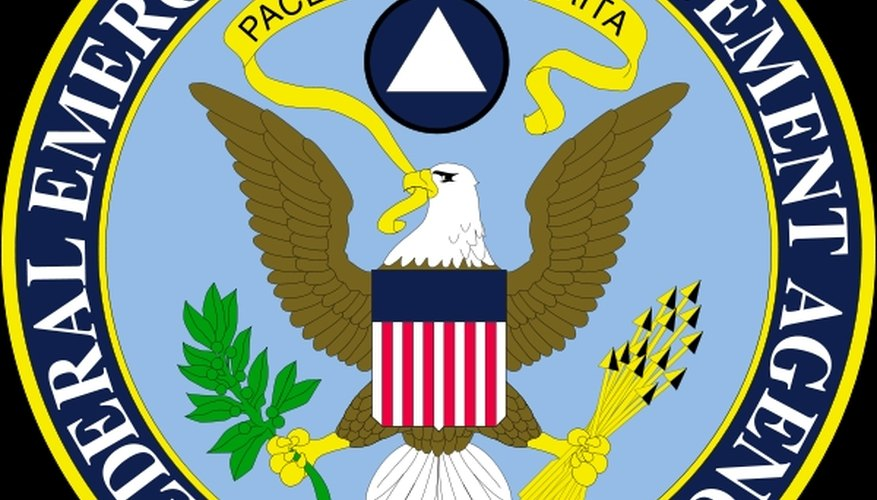 FEMA, or the Federal Emergency Management Agency, is in charge of all natural disasters within the United States