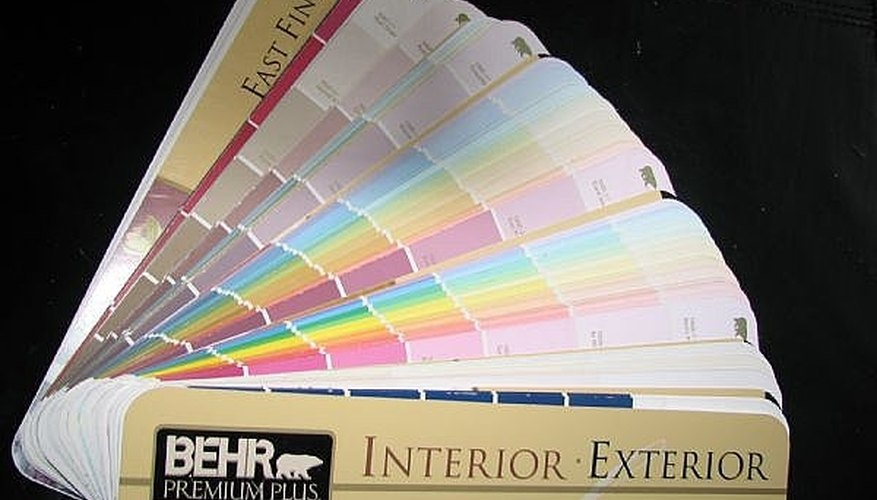 Get your own complete paint color book.