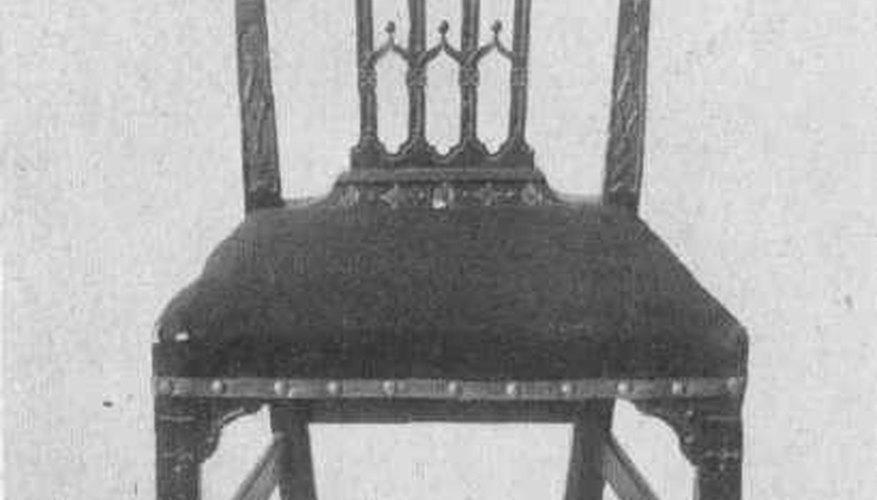 Chippendale chair, Public Domain