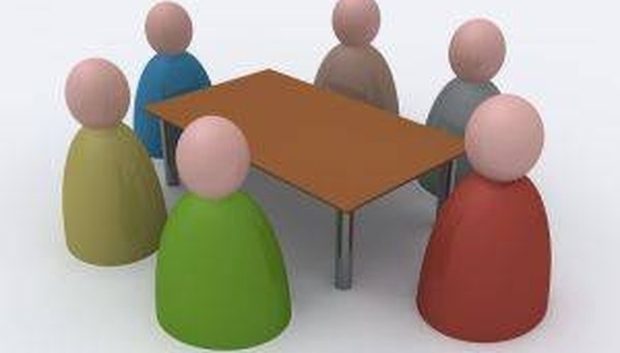 Business meeting etiquette makes meetings more efficient.