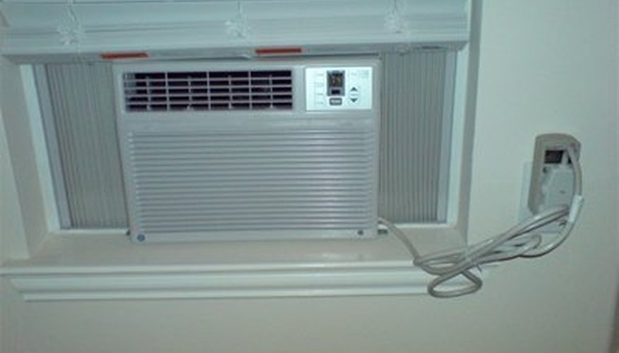 air conditioner installed and ready to cool