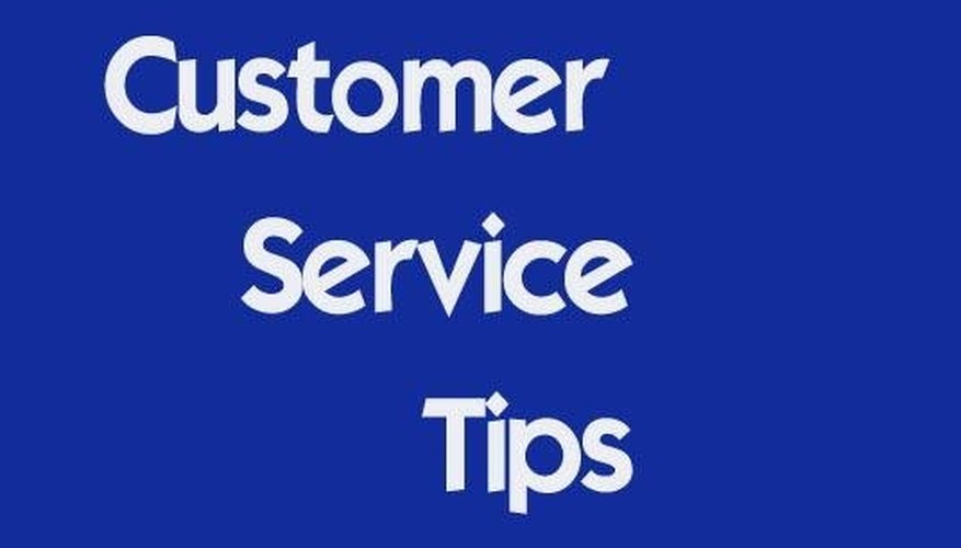 Play games to demonstrate customer service tips