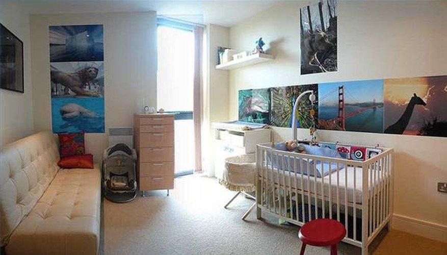 A baby nursery