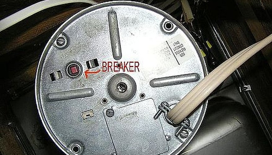 Bottom view of a typical disposal/disposer