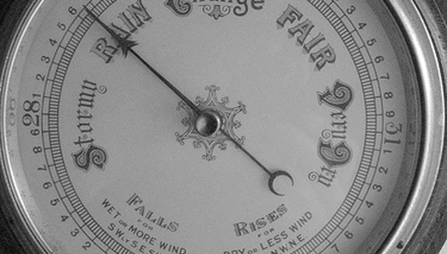 Antique Barometer.