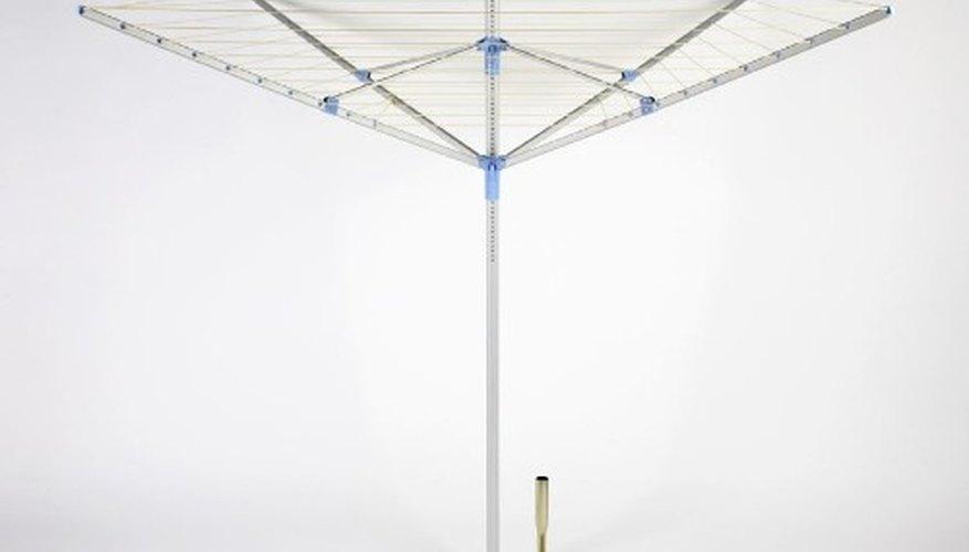 Umbrella clothesline