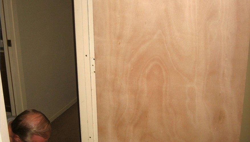 Hanging a Slab Door
