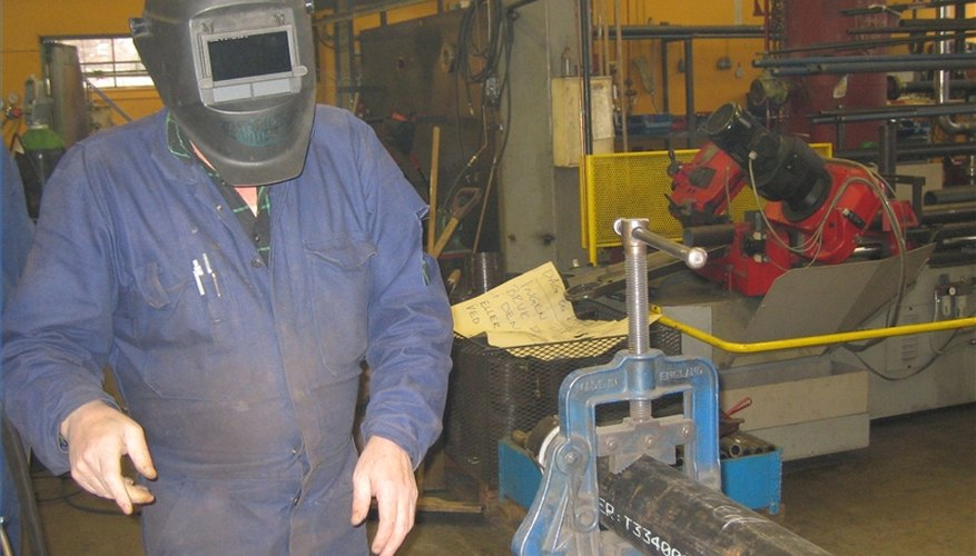 Setting up a welding shop requires preparation and equipment.