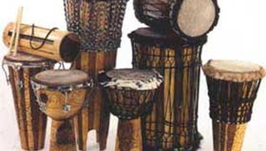 Types of African Drums