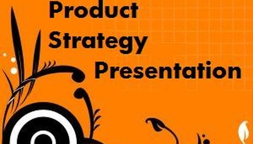 Product strategy presentations define how you manage your product.