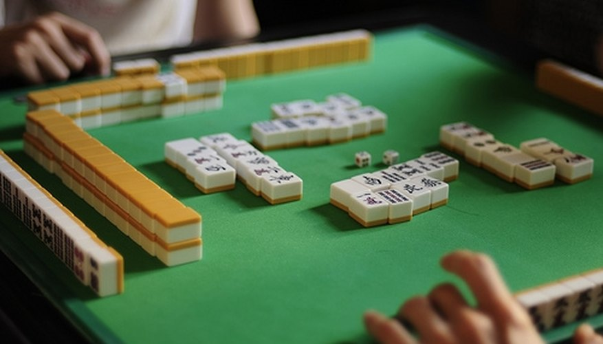 people playing American Mahjong