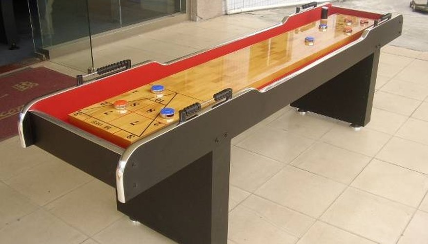 How To Build A Shuffle Board Our Pastimes