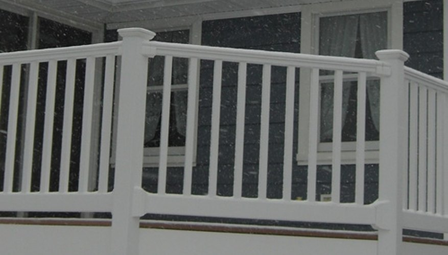 A durable composite railing