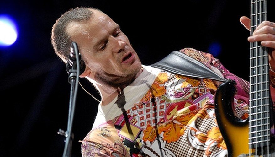 Flea, Bassist for The Red Hot Chili Peppers, Leon Wilson/GoogleImage.com