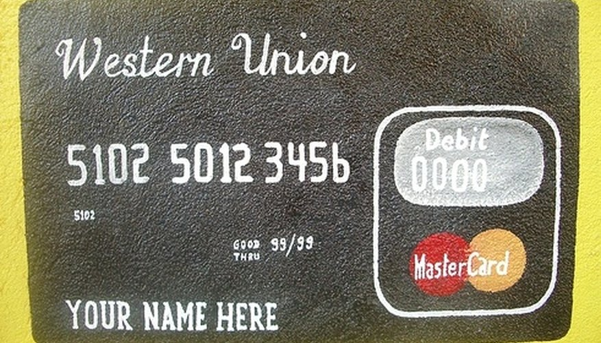 Use a credit card to send money quickly