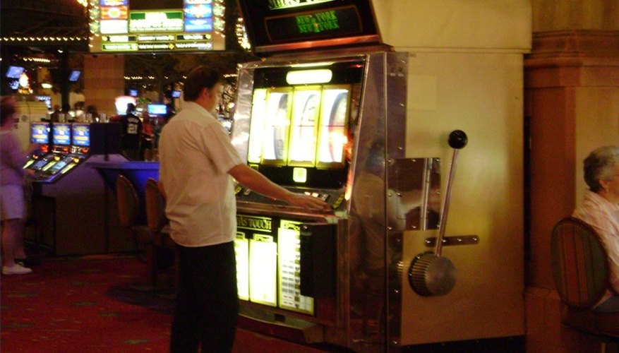 Gambling machines come in all sizes, wth different pay-outs.