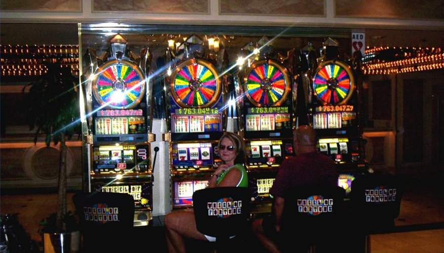 Wheel of Fortune slot machines are very popular.