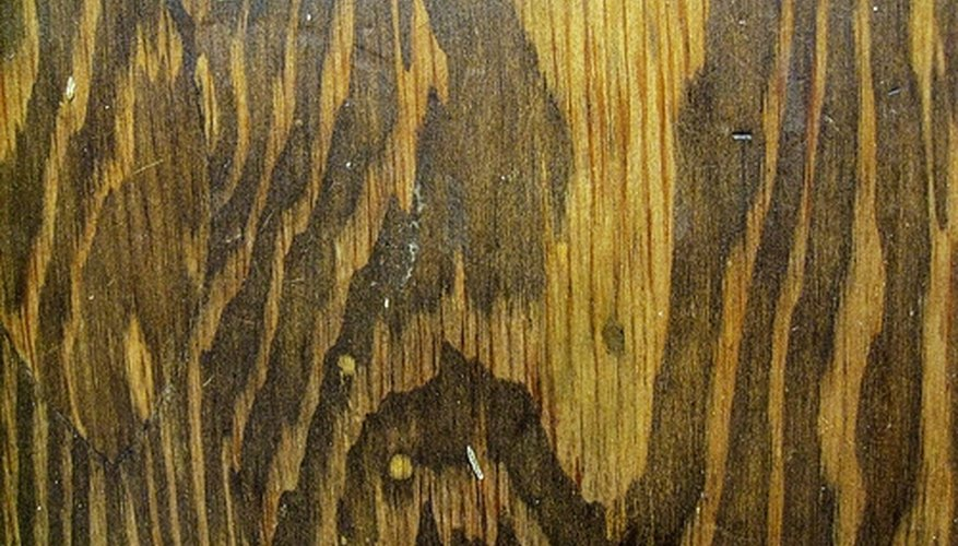 Wood paneling is available in many different colors and finishes.