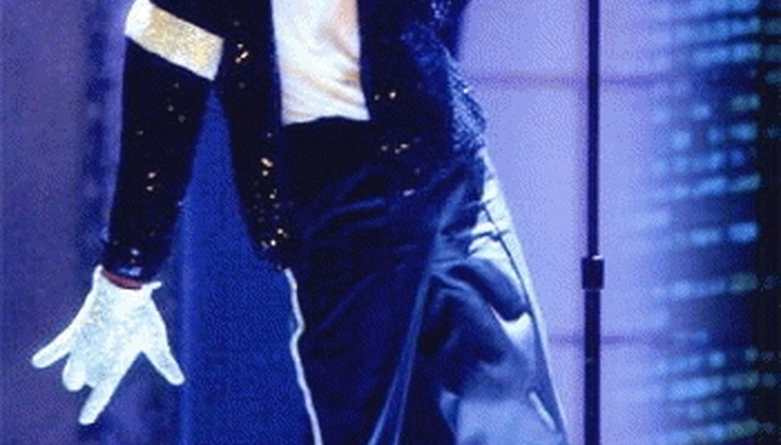 Dressing Like Michael Jackson. This is not what your going to look like but its close.
