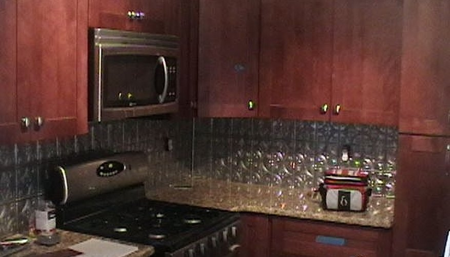 Your finished kitchen will dazzle guests and be easy to keep clean.