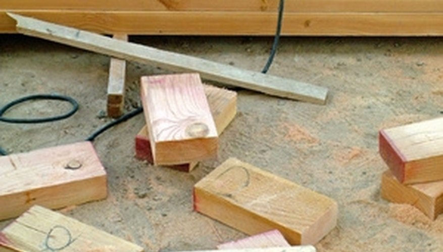 Use a circular saw to even out the deck.