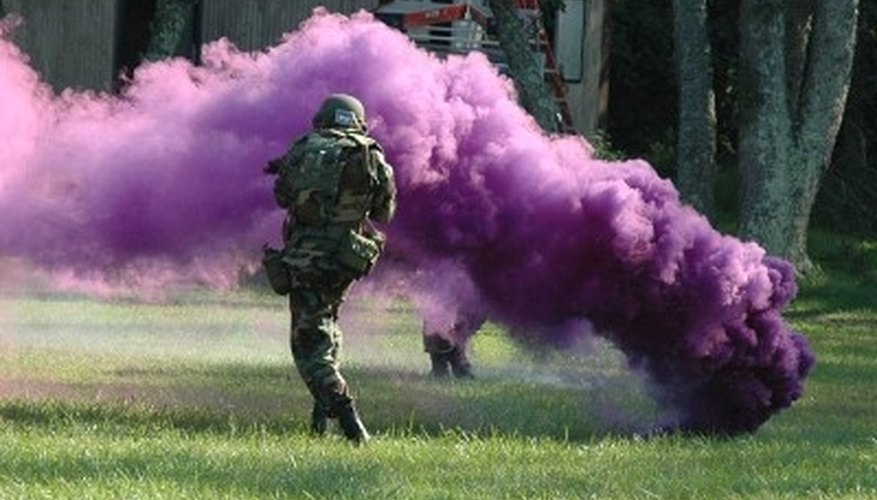 How to Make Colorful Smoke Bombs