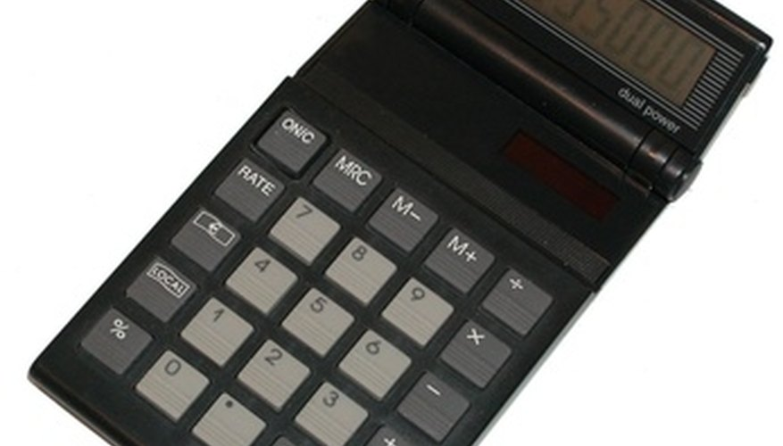 Calculate figures twice to avoid errors.