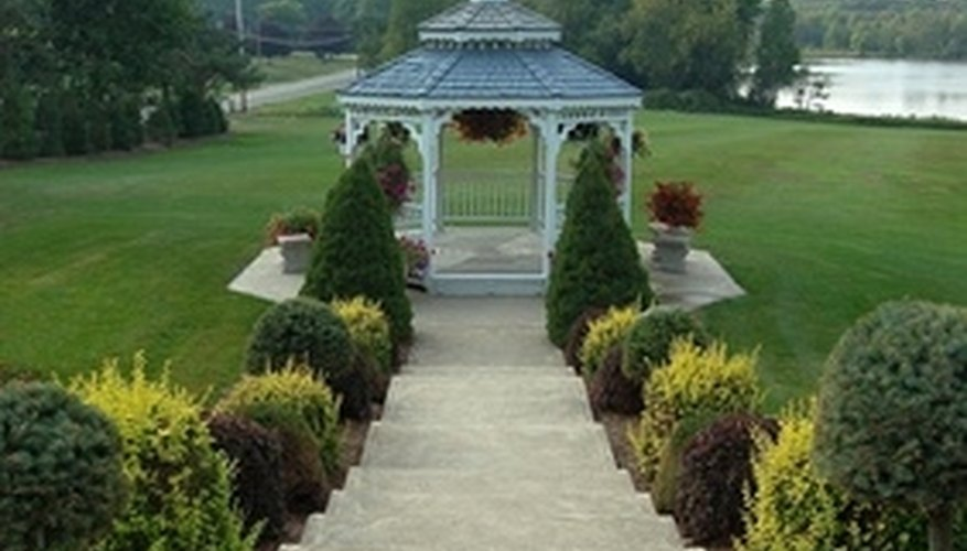 Don't forget to calculate each gazebo tier.