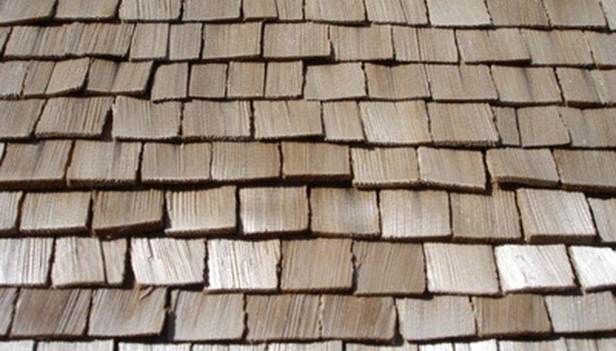 Cedar is a popular choice for gazebo shingles.